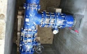 désinfection conduites d'eau